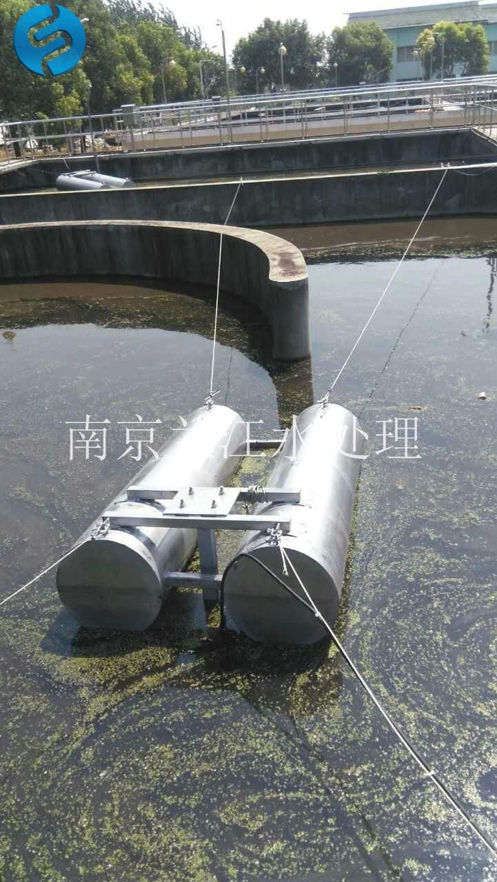 南京兰江FQJB1.5/6-260/3-980玻璃钢浮筒搅拌机,高速浮筒搅拌器示例图14