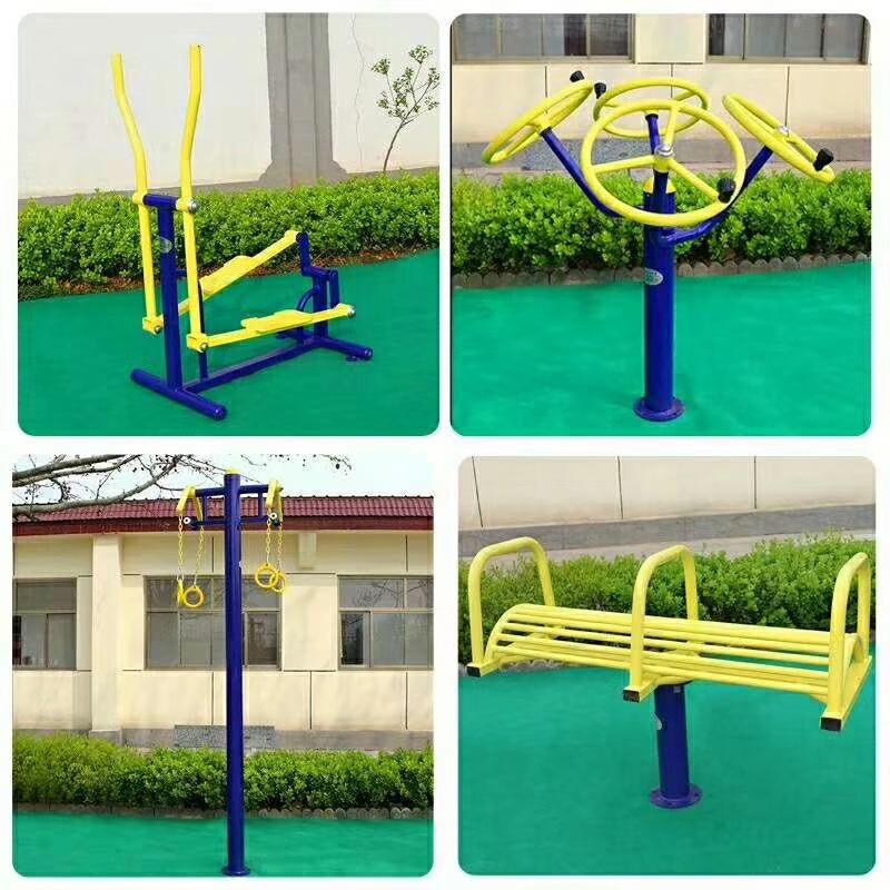 销售公园小区单人健骑机  室外健身器材  户外健身路径 增强体质示例图11