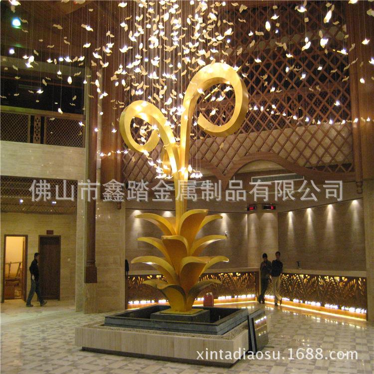 贵阳购物中心广场不锈钢雕塑专业生产厂家示例图15