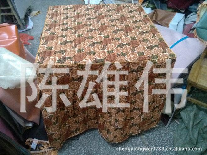 棉桌罩厂家大量供应加厚棉桌罩 防尘棉桌罩 欢迎订购示例图4