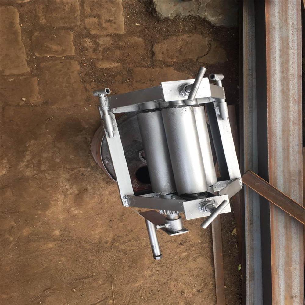 包邮手动小型卷板机手摇卷圆机扁铁滚圆机订做电动卷管机钢筋打圆机