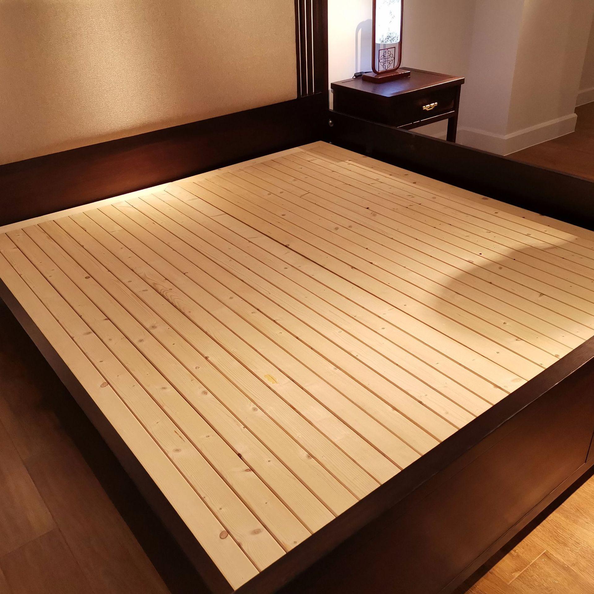 现代新中式竞技宝和雷竞技哪个好床 简约卧室双人床 大婚床乌金木雷竞技靠谱吗 可定制示例图7