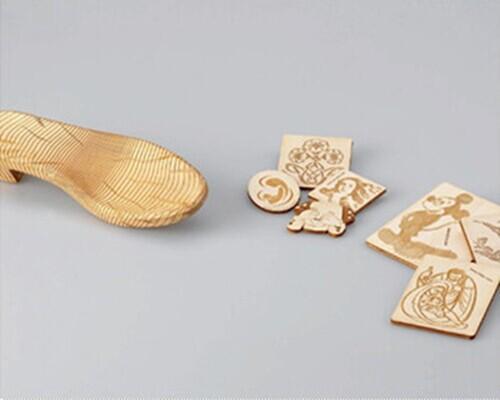 木质工艺品激光打标机|木板激光刻字|木制品激光雕花刻字示例图4