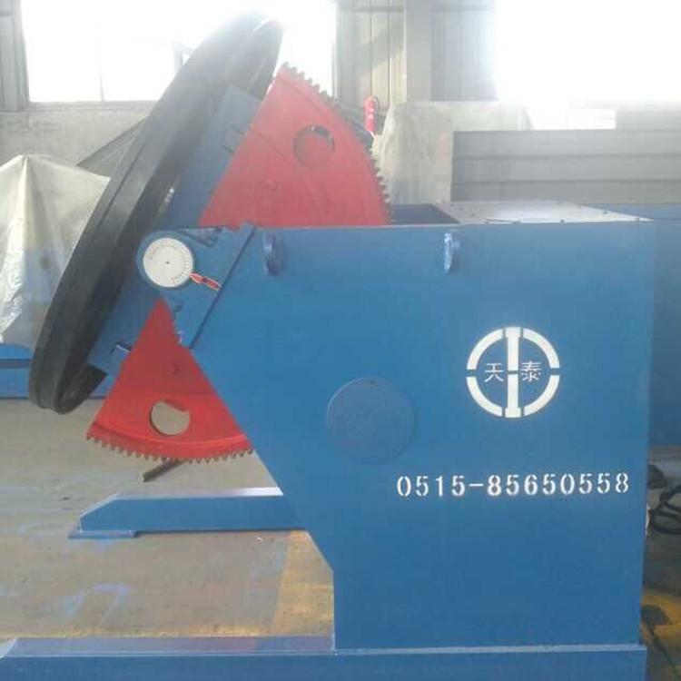 20吨自调焊接滚轮架  江苏厂家非标定制皇泰操作机 可调滚轮架示例图2