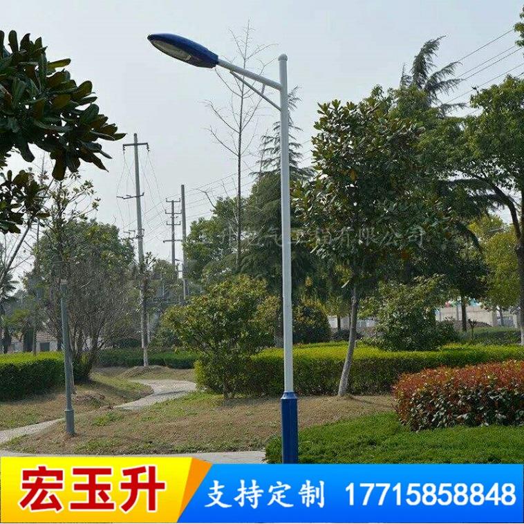 四川廠家直銷LED路燈桿定制 大功能綠色環保道路照明燈 戶外道路照明燈 來圖定制