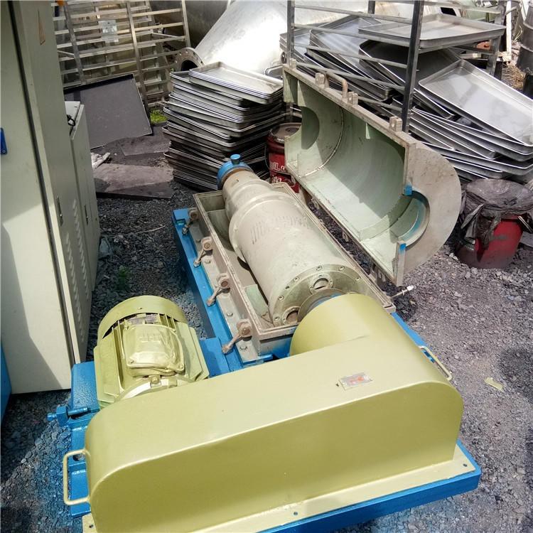 二手450型卧式螺旋离心机   JF--1250型平板吊带离心机  聚发碟片油水分离机