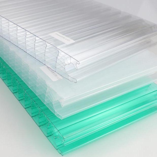 PC插接阳光板 幕墙用阳光板 30mm插接阳光板 40mm插接板现货供应 历创
