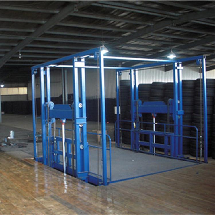 固定链条式升降货梯 壁挂导轨式液压货梯 小型简易货梯 升降货梯示例图14
