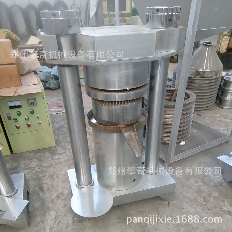 全自动流动车载香油机液压芝麻榨油机可到付示例图1