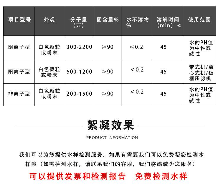 廠家直銷PAM陽離子聚丙烯酰胺 淨水絮凝劑 陰離子聚丙烯酰胺示例圖3