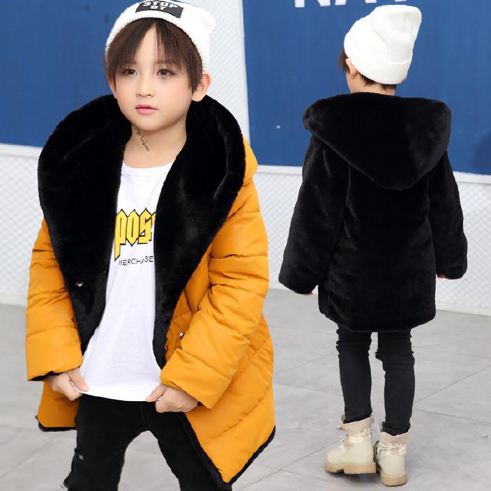 工廠直銷男女童棉衣2017冬款中大童雙面穿棉服保暖外套一件代發