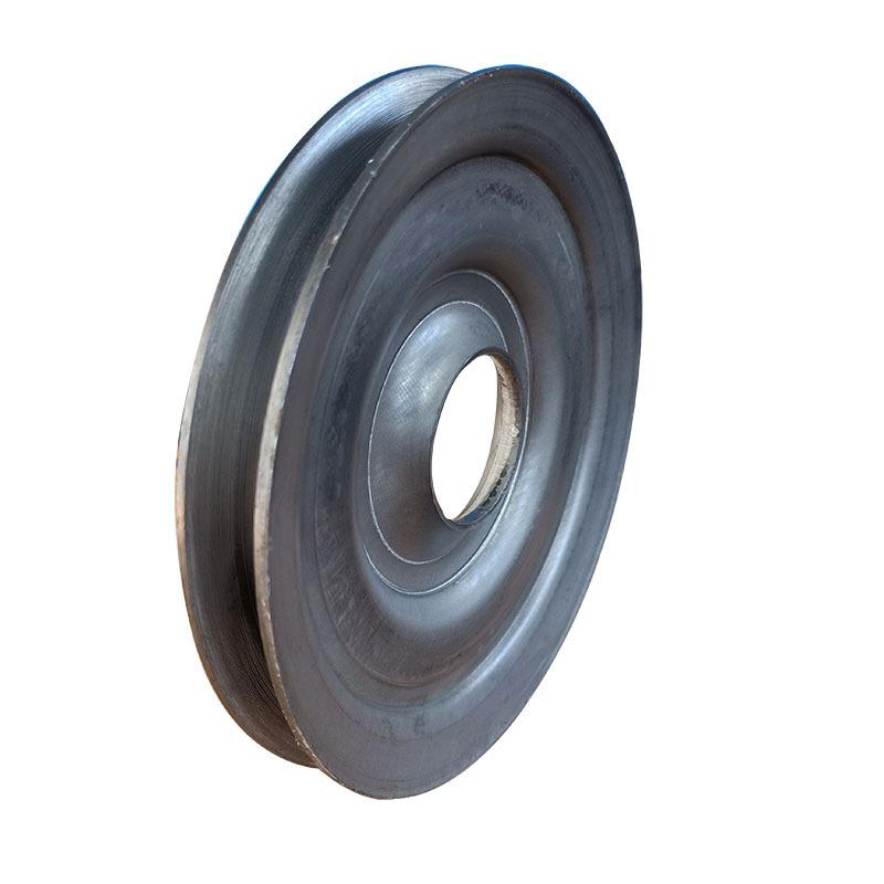粉碎机械专用配套劈开式V型皮带轮尺寸精准外观精致质量保证示例图4