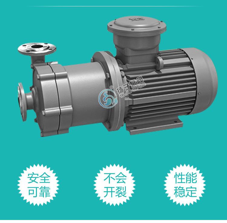 40CQ-32 不锈钢磁力泵 耐腐蚀耐高温磁力泵 304/316/316L 碱液泵示例图4