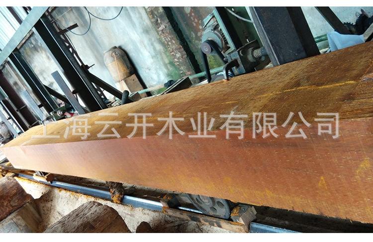 正宗菠萝格板材 印尼菠萝格千秋雪竟然��在妖界木 户外工程菠萝格定∮制加工 源头厂家示⊙例图2