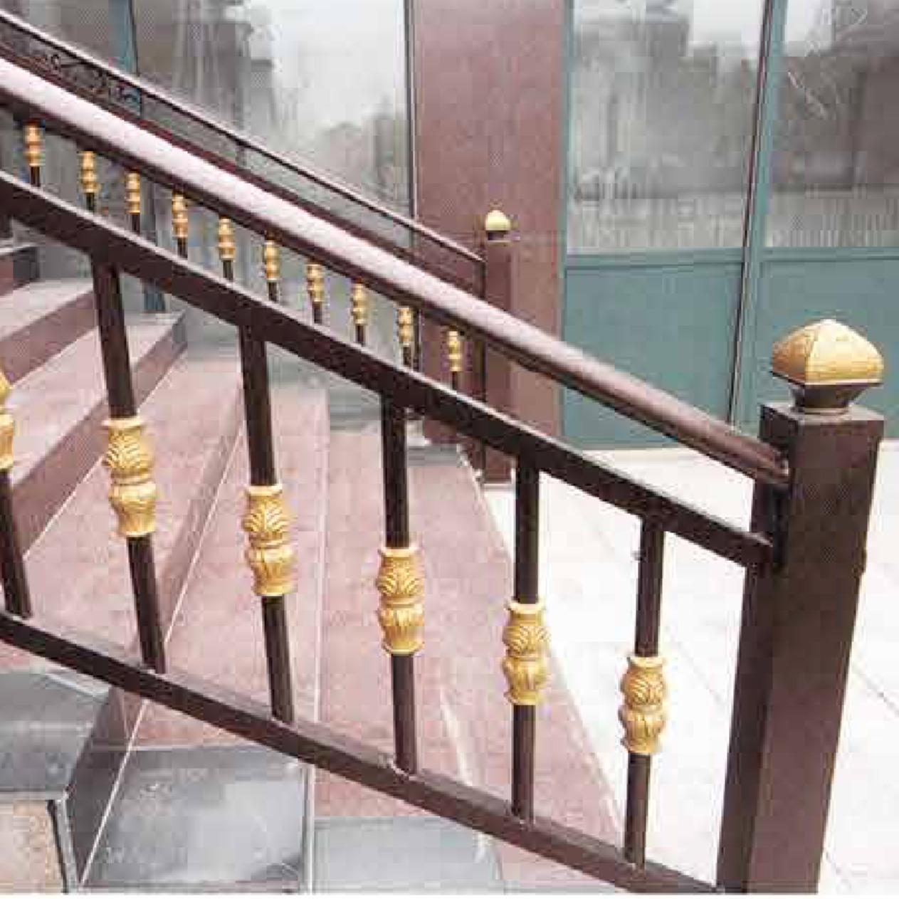 专业生产加工铝艺��息之地护栏,锌钢护栏,仿铜格栅,铁围栏