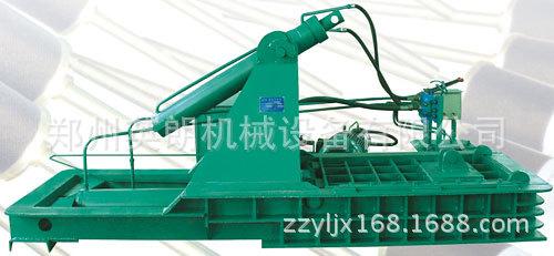 卧式高效废旧金属压块机 废铁压块机 金属废料液压压块机示例图16