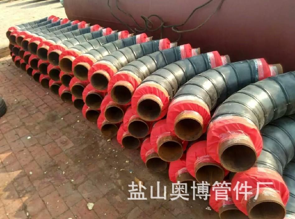 大量供应 保温钢管 直埋式保温钢管 定制 聚氨酯保温钢管厂家示例图13