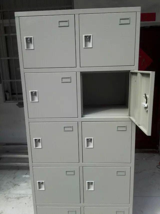 厂家供应智能12门-48门指纹存包柜遥控器开门,自己设置一人一门示例图4