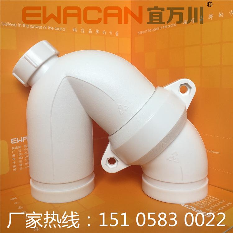 沟槽式HDPE超静音排水管,HDPE沟槽管,压环卡箍,厂家直销示例图7