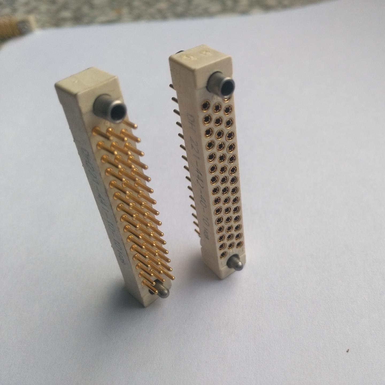 ket连接器 44芯线簧印制板连接器 混装连接器厂家批发  东普电子