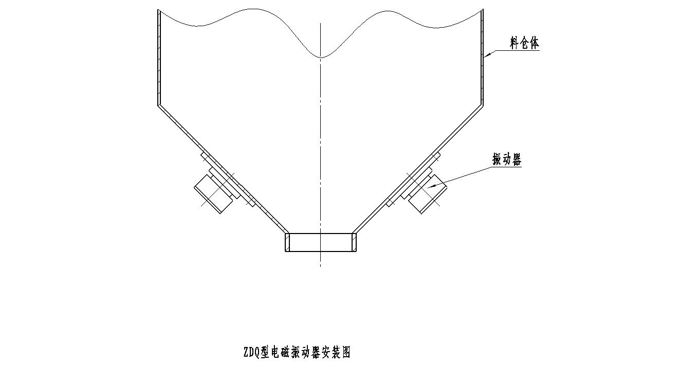 安德专业生产电磁振动器,ZDQ-50电磁振动器 高品质电磁振动器 节能电磁震动器示例图3