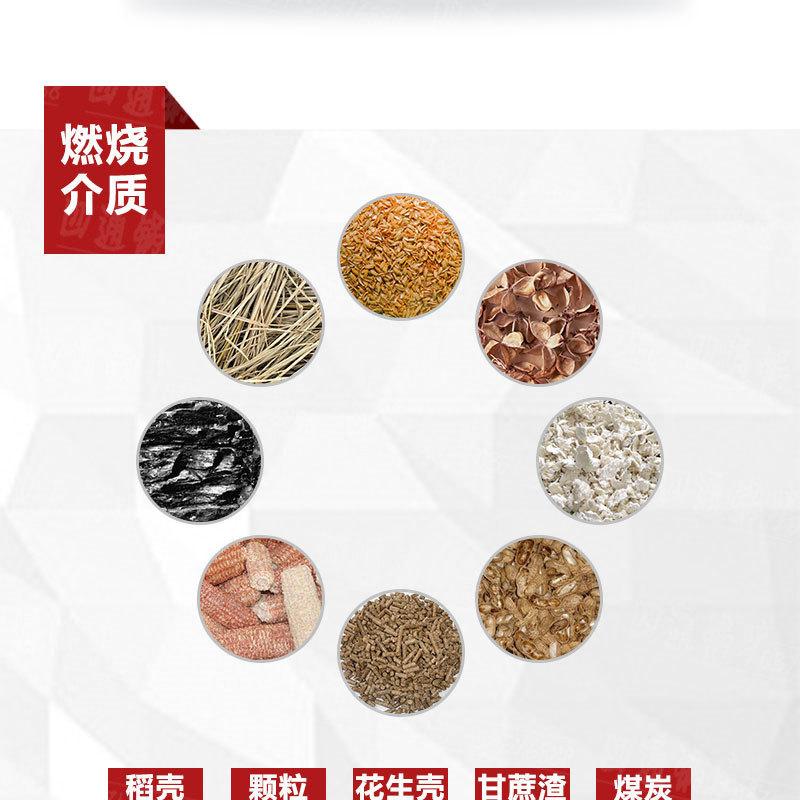 厂家直销生物质颗粒锅炉  烧秸秆锅炉  燃稻壳锅炉示例图5