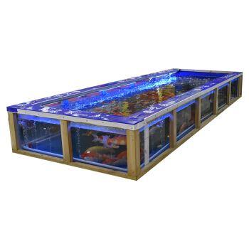 新型游乐项目吃奶鱼池,吃奶鱼,奶嘴鱼游乐设备,吸奶鱼娱乐项目,互动型娱乐项目吃奶鱼,2020参与性互动型娱乐项目示例图5