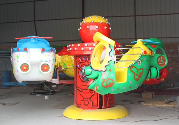 小型 大眼飞机游乐 新款4座升降大眼飞机游乐设施厂家批发 价格示例图3
