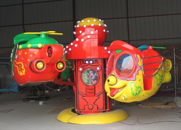 小型 大眼飞机游乐 新款4座升降大眼飞机游乐设施厂家批发 价格示例图4