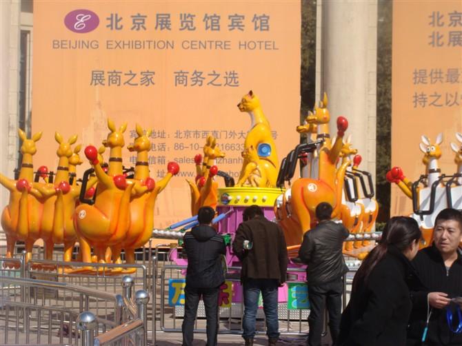 2013-2020都流行 新款 游乐 欢乐袋鼠 郑州大洋好玩的 欢乐袋鼠项目 袋鼠跳 厂家游乐设施示例图10