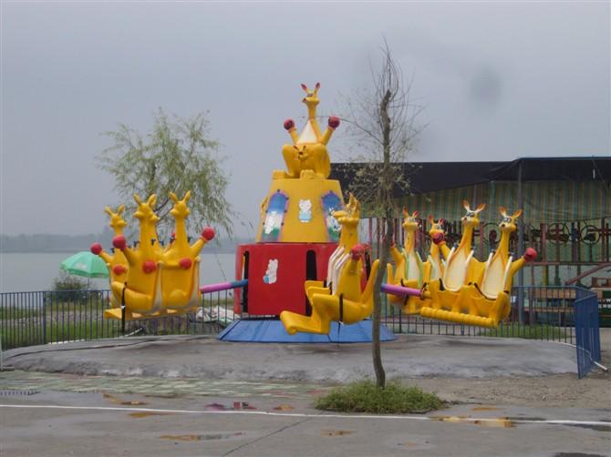 2013-2020都流行 新款 游乐 欢乐袋鼠 郑州大洋好玩的 欢乐袋鼠项目 袋鼠跳 厂家游乐设施示例图13