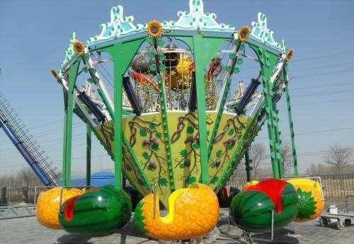 值得入手的16座超级秋千儿童游乐设备 大洋游乐疯狂旋转超级秋千游乐项目示例图9