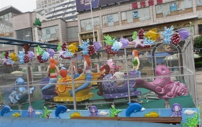 郑州大洋儿童游乐设备欢乐喷球车 新赚钱神器轨道欢乐喷球车厂家造型分类齐全保您满意示例图15