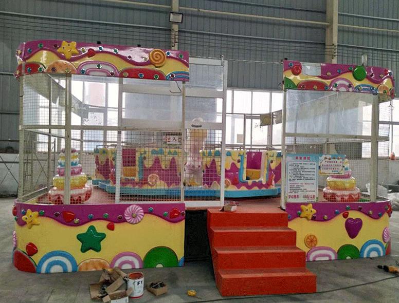 郑州大洋儿童游乐设备欢乐喷球车 新赚钱神器轨道欢乐喷球车厂家造型分类齐全保您满意示例图17