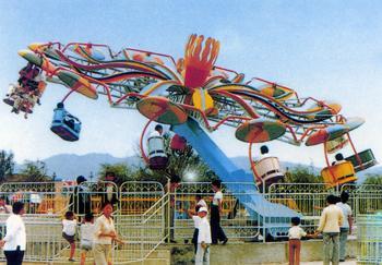 双人飞天新款儿童游乐设备 销售火爆 双人飞天大洋游乐生产厂家示例图8