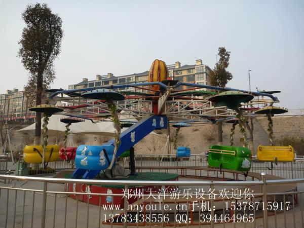 双人飞天新款儿童游乐设备 销售火爆 双人飞天大洋游乐生产厂家示例图12
