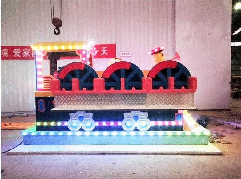 郑州大洋游乐设备重磅推出新款游乐儿童排排座项目 全新设计排排座报价示例图4