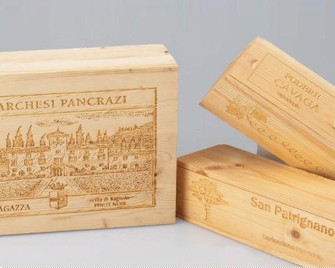 木质工艺品激光打标机|木板激光刻字|木制品激光雕花刻字示例图3