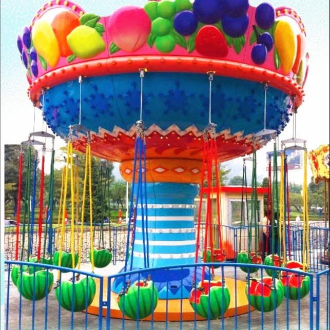 大洋西瓜飞椅 水果旋风 水果飞椅是一款深受小朋友喜爱的游乐设备