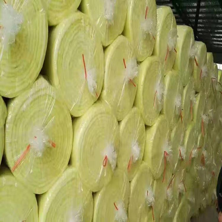 防水玻璃棉 铝箔玻璃棉卷毡 玻璃棉卷毡厂家出售