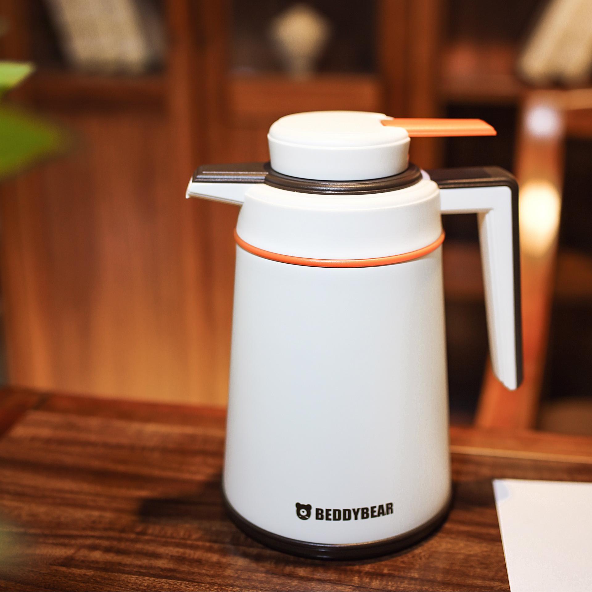 杯具熊保溫壺家用304不銹鋼保溫瓶暖壺熱水瓶大容量水壺開水瓶示例圖3