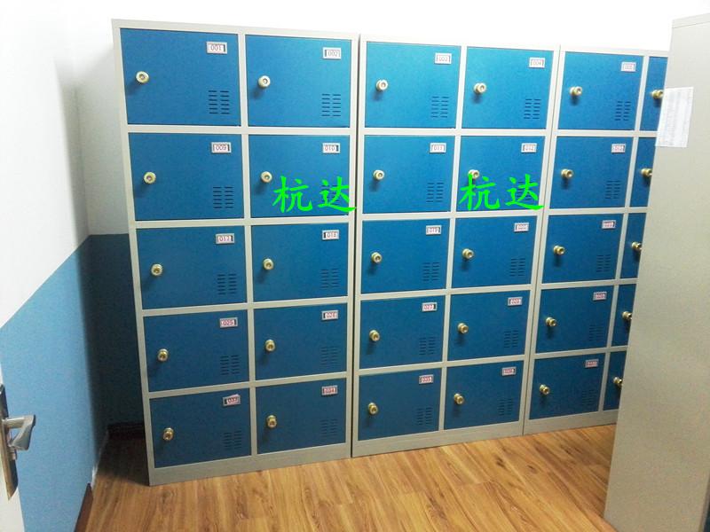 厂家供应智能12门-48门指纹存包柜遥控器开门,自己设置一人一门示例图11