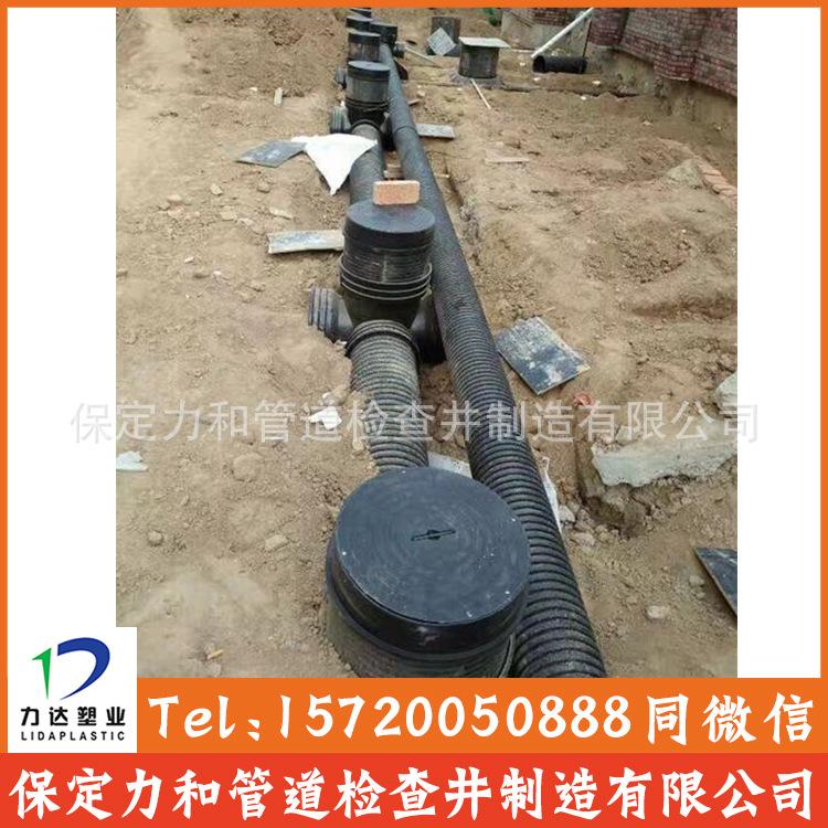 450*300流槽直通井 塑料直通井|排水检查井|河北生产厂家示例图13