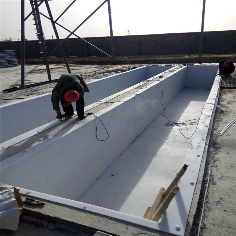 加工pp板材 塑料板定做水箱 焊接 冷却循环水箱 酸洗槽批发示例图8