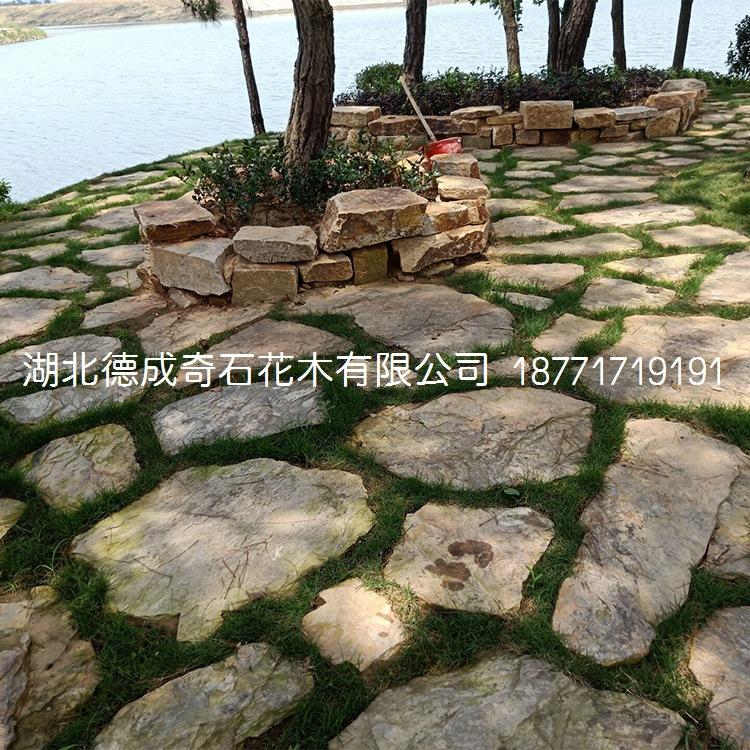 2018年汀步石景墙石批发庭院铺路石示例图13