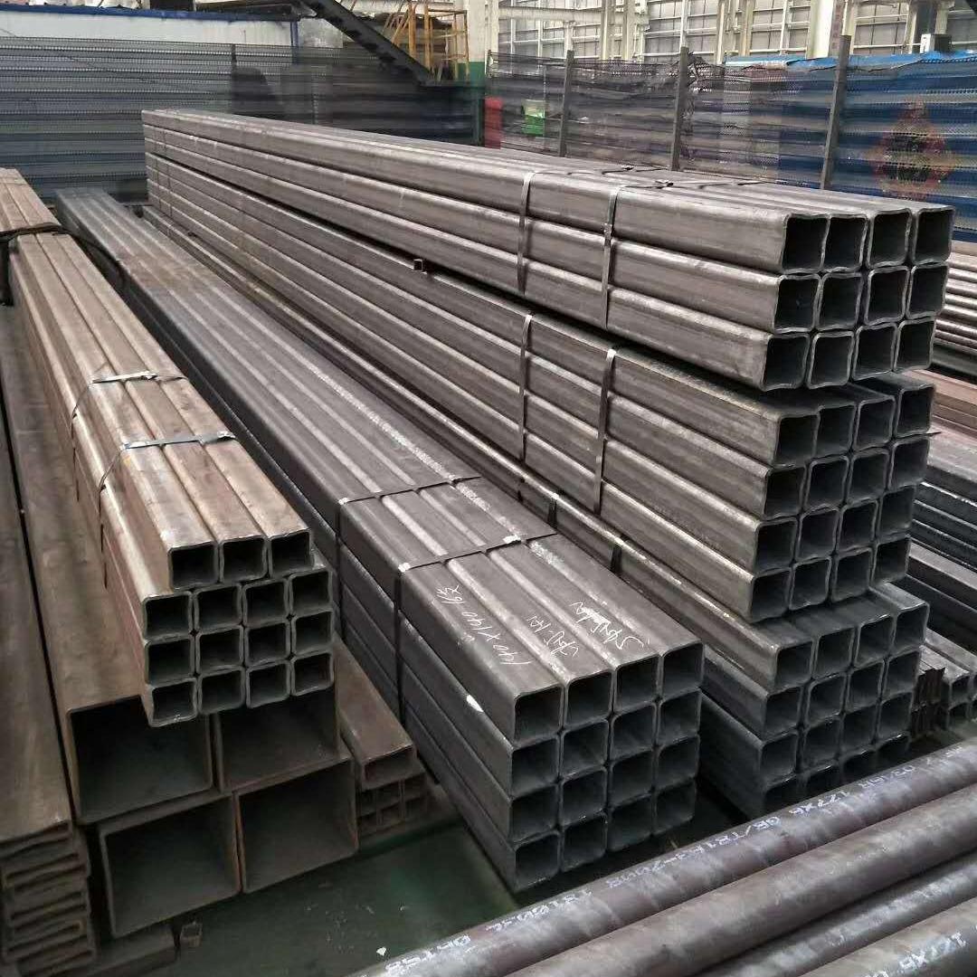 廠家供應Q345B無縫方矩管 16Mn無縫方矩管 大口徑厚壁無縫方矩管 鋼結構用方矩管