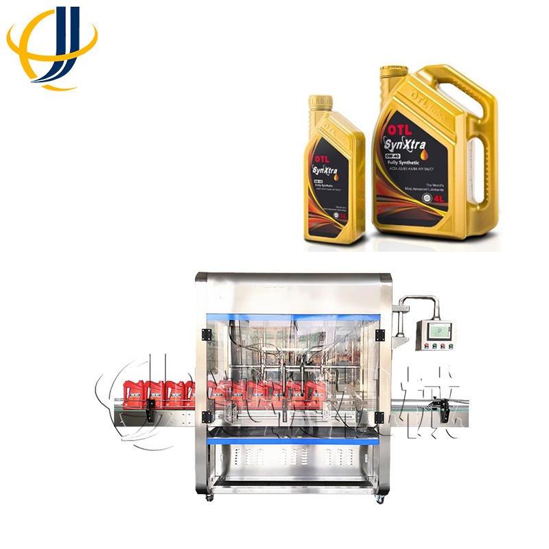 供应 润滑油灌装机 山东 全自动润滑油灌装机 10Kg大桶装润滑液灌装机 原厂直销 迅捷机械
