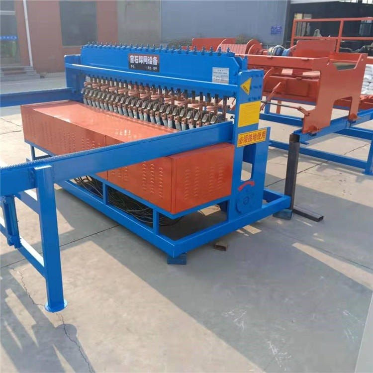 宝石焊网机 10-12mm桥梁钢筋网焊网机 BS-330大型建筑焊网机