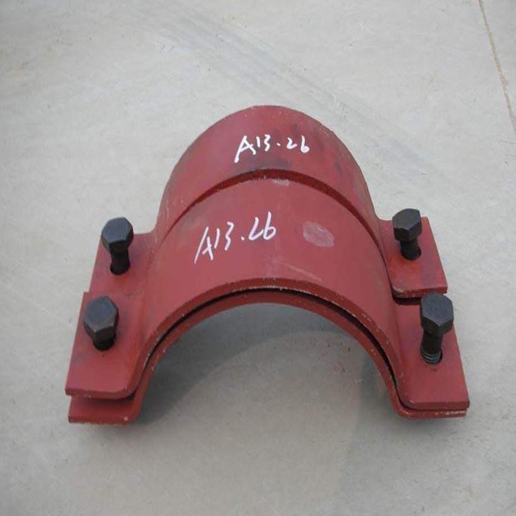 鍍鋅A5基準型雙螺栓管夾,不銹鋼基準型雙螺栓管夾