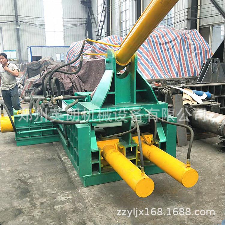 卧式高效废旧金属压块机 废铁压块机 金属废料液压压块机示例图6